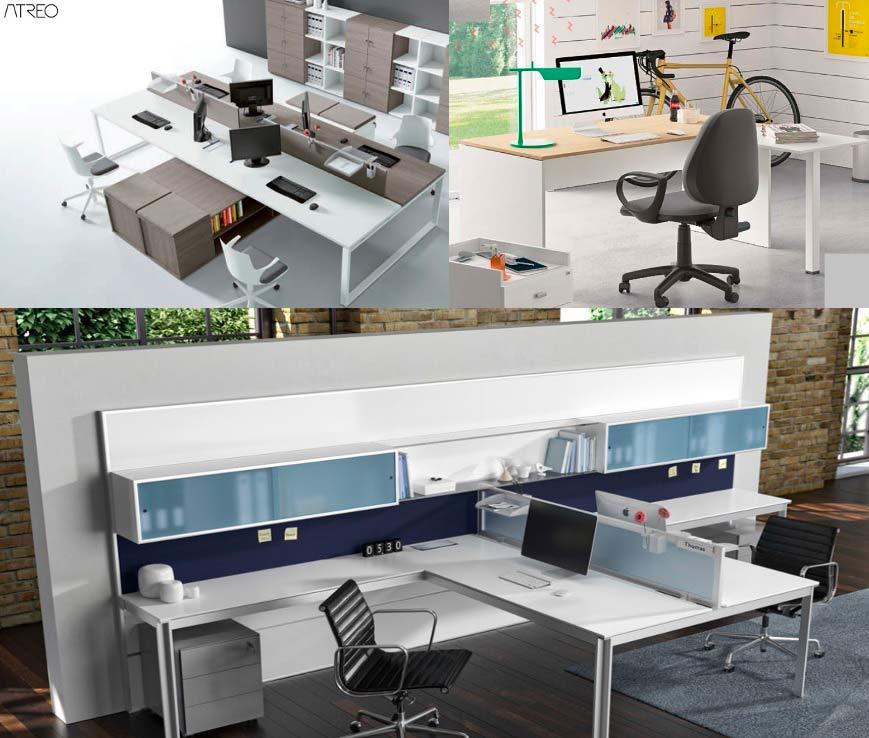 Nuovi modelli di scrivanie per ufficio for Scrivanie ufficio milano