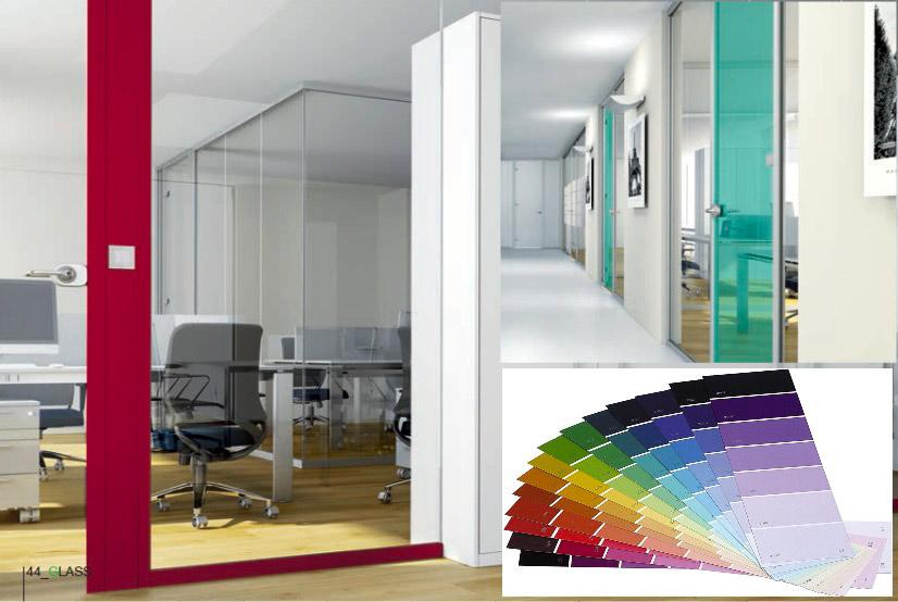 Pareti Colorate Ufficio ~ Ispirazione design casa