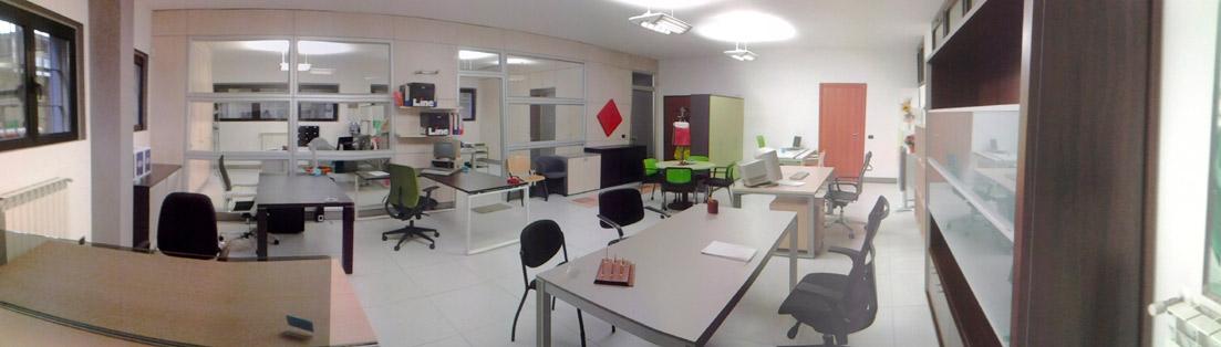 Nuovo show room for Arredi per ufficio milano