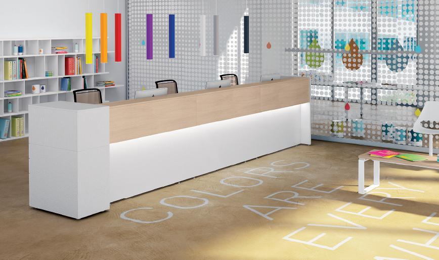 Reception per ufficio milano for Banconi reception per ufficio