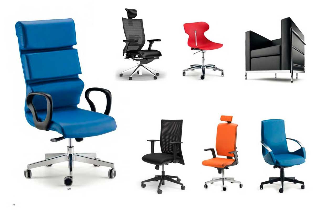 sedute ergonomiche per ufficio sedute e poltrone per ufficio con alte ...