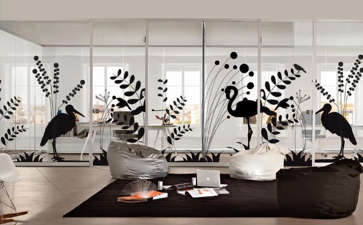 Pareti divisorie in vetro per gestire gli spazi in ufficio