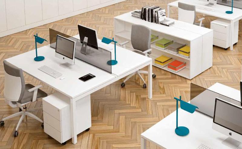 Scrivanie Per Ufficio Usate : Scrivanie milano. scrivania postazione in studio di design milano