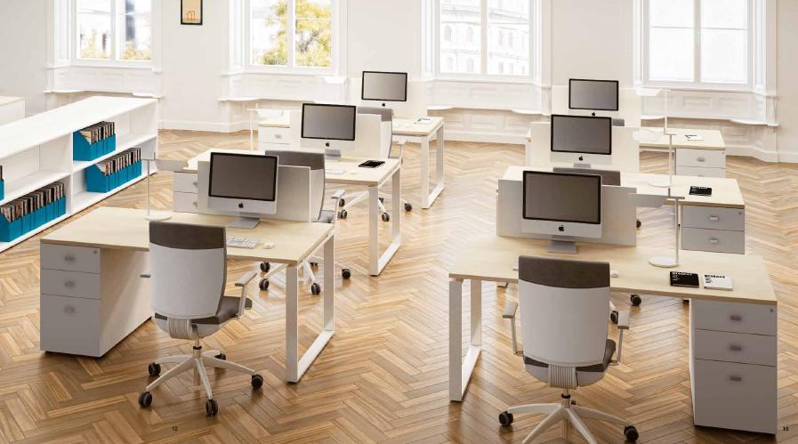 Disposizione Scrivania Ufficio : Cerchi scrivanie da ufficio a milano?