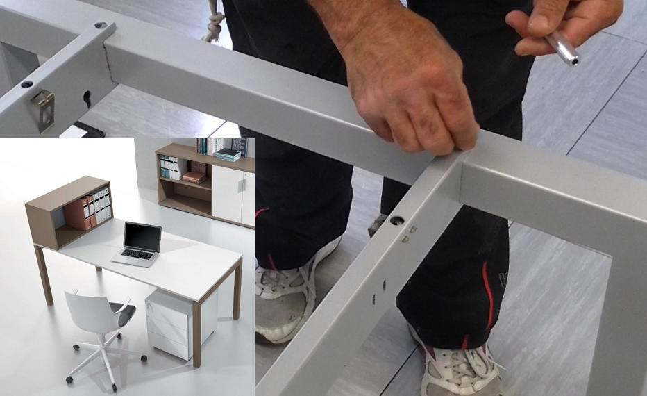 Mobili per ufficio a montaggio rapido for Montaggio arredi