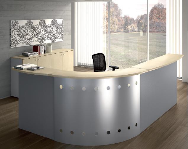 Reception per ufficio milano for Lavoro arredamento milano