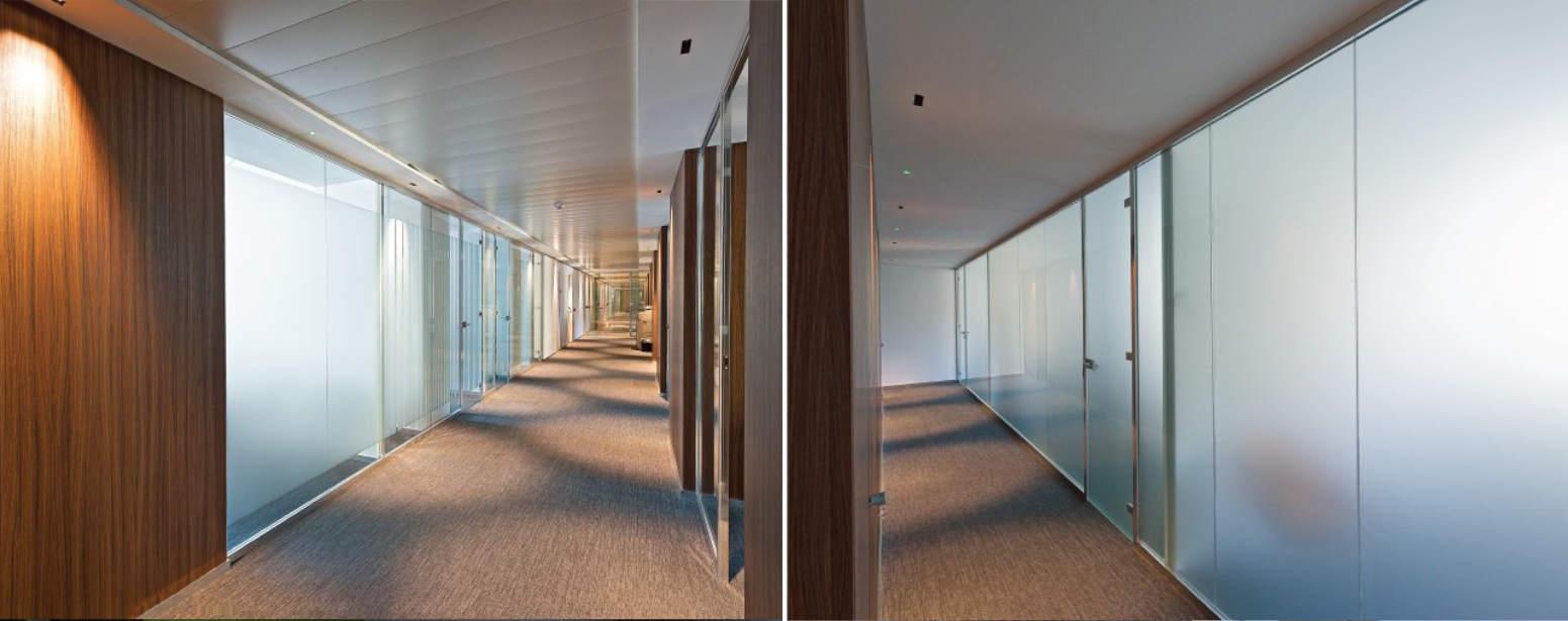 Pareti in Vetro LCD: eleganza e multifunzionalità in un click