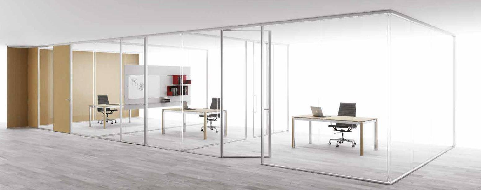 Pareti Divisorie in Vetro: creare spazio e rinnovare l ufficio