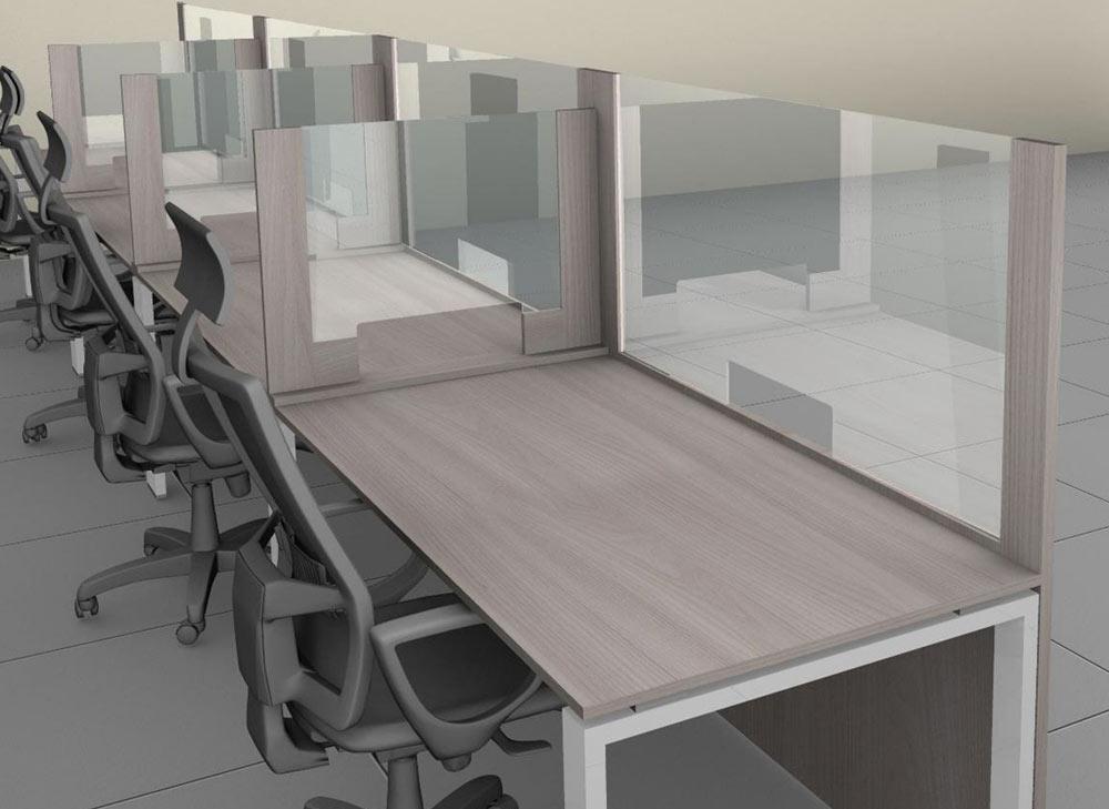 Schermi Divisori in Ufficio per contenere il Coronavirus