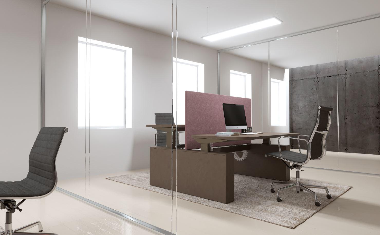 finest come arredare il mio ufficio la scrivania del futuro eu regolabile in altezza with ...