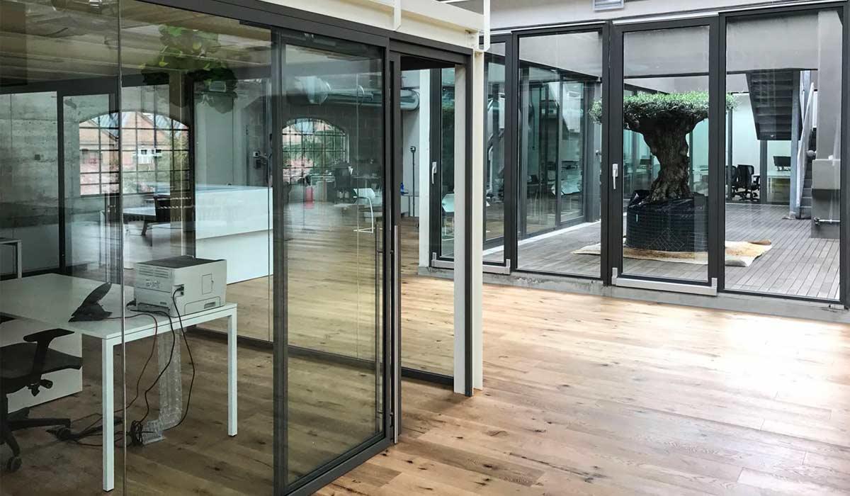 Parete Divisoria Ufficio : Pareti divisorie e pareti mobili per ufficio a milano