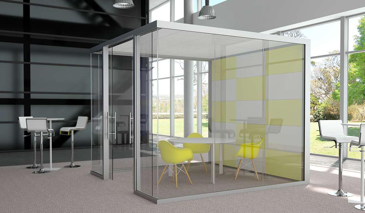 Pareti divisorie e pareti mobili a milano in vetro e for Pareti per ufficio