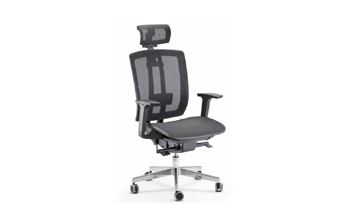 Sedie ergonomiche da ufficio poltrone direzionali e da for Sedute da ufficio