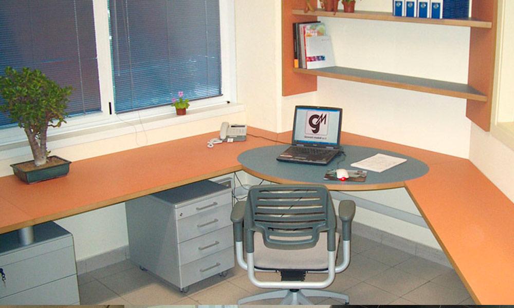 Scrivania Ufficio Su Misura : Arredamento per ufficio su misura milano